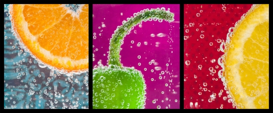 fruit in bubble water__DSC6859