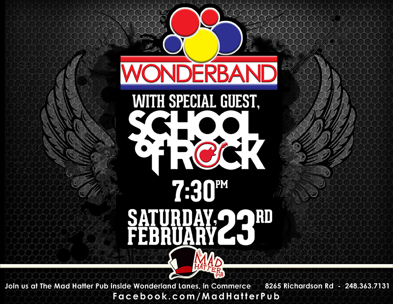 Wonderband and School of rock