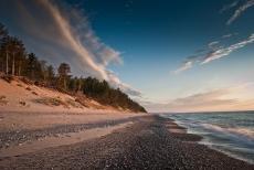 Sunset at 12 mile beach in Grand Marais 03